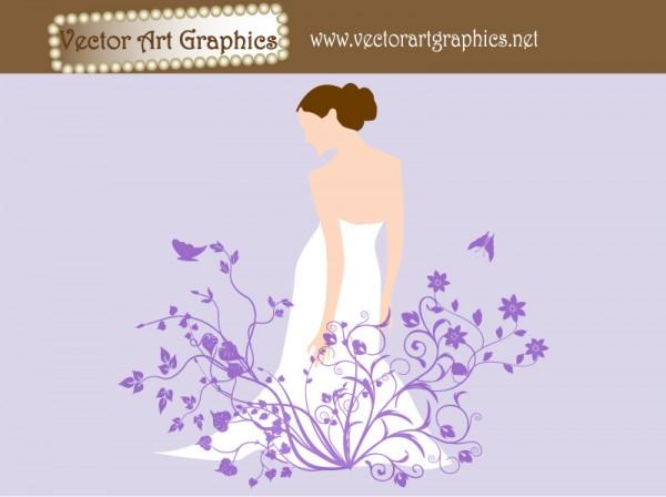 wedding-flowers-bride-art